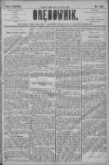 Orędownik: pismo dla spraw politycznych i społecznych 1906.07.13 R.36 Nr157