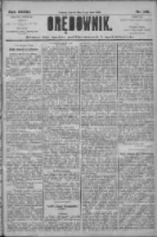Orędownik: pismo dla spraw politycznych i społecznych 1906.07.14 R.36 Nr158