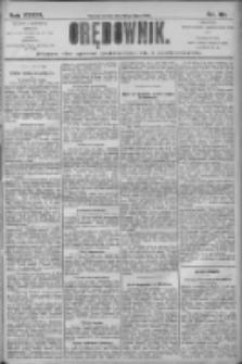 Orędownik: pismo dla spraw politycznych i społecznych 1906.07.18 R.36 Nr161