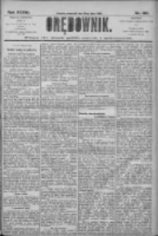 Orędownik: pismo dla spraw politycznych i społecznych 1906.07.19 R.36 Nr162