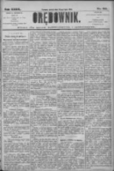 Orędownik: pismo dla spraw politycznych i społecznych 1906.07.20 R.36 Nr163