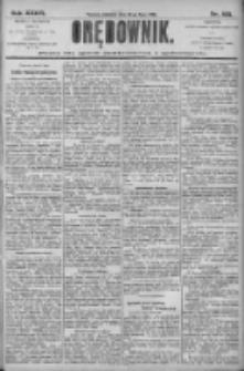 Orędownik: pismo dla spraw politycznych i społecznych 1906.07.22 R.36 Nr165