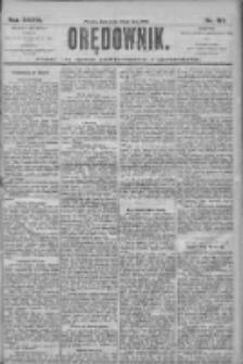 Orędownik: pismo dla spraw politycznych i społecznych 1906.07.25 R.36 Nr167