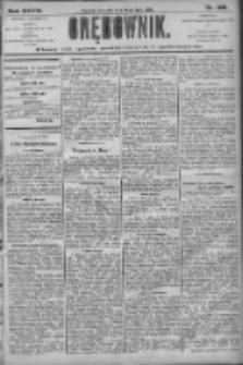 Orędownik: pismo dla spraw politycznych i społecznych 1906.07.26 R.36 Nr168