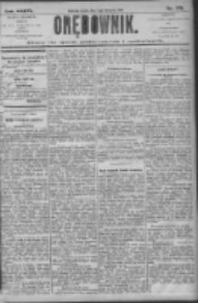 Orędownik: pismo dla spraw politycznych i społecznych 1906.08.01 R.36 Nr173