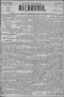 Orędownik: pismo dla spraw politycznych i społecznych 1906.08.02 R.36 Nr174