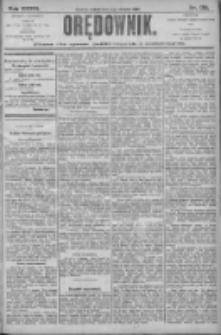 Orędownik: pismo dla spraw politycznych i społecznych 1906.08.04 R.36 Nr176