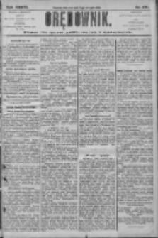 Orędownik: pismo dla spraw politycznych i społecznych 1906.08.05 R.36 Nr177
