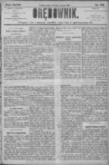 Orędownik: pismo dla spraw politycznych i społecznych 1906.08.08 R.36 Nr179