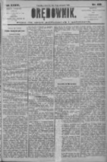 Orędownik: pismo dla spraw politycznych i społecznych 1906.08.09 R.36 Nr180