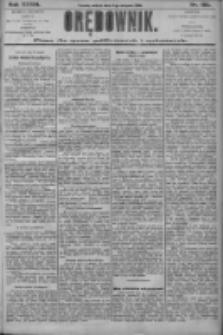 Orędownik: pismo dla spraw politycznych i społecznych 1906.08.11 R.36 Nr182