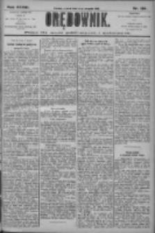Orędownik: pismo dla spraw politycznych i społecznych 1906.08.14 R.36 Nr184