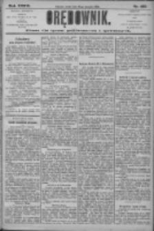 Orędownik: pismo dla spraw politycznych i społecznych 1906.08.15 R.36 Nr185