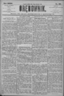 Orędownik: pismo dla spraw politycznych i społecznych 1906.08.18 R.36 Nr187