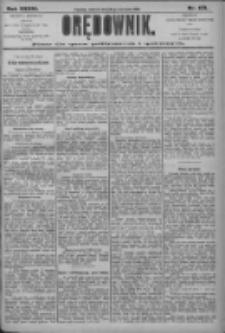 Orędownik: pismo dla spraw politycznych i społecznych 1906.08.21 R.36 Nr189
