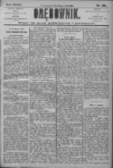 Orędownik: pismo dla spraw politycznych i społecznych 1906.08.24 R.36 Nr192