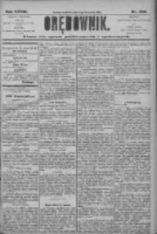 Orędownik: pismo dla spraw politycznych i społecznych 1906.09.02 R.36 Nr200