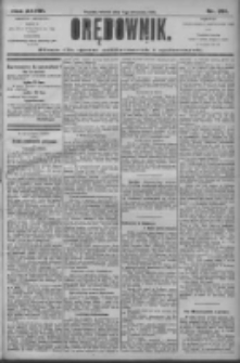 Orędownik: pismo dla spraw politycznych i społecznych 1906.09.04 R.36 Nr201