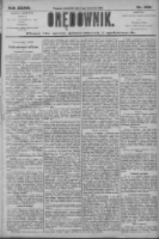 Orędownik: pismo dla spraw politycznych i społecznych 1906.09.06 R.36 Nr203