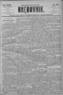 Orędownik: pismo dla spraw politycznych i społecznych 1906.09.07 R.36 Nr204