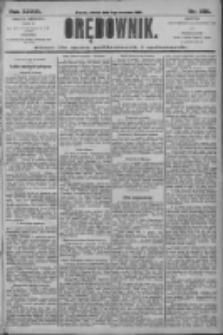 Orędownik: pismo dla spraw politycznych i społecznych 1906.09.11 R.36 Nr206