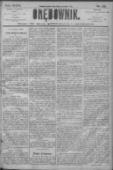 Orędownik: pismo dla spraw politycznych i społecznych 1906.09.21 R.36 Nr215