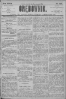 Orędownik: pismo dla spraw politycznych i społecznych 1906.09.27 R.36 Nr220