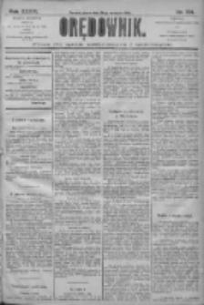 Orędownik: pismo dla spraw politycznych i społecznych 1906.09.28 R.36 Nr221