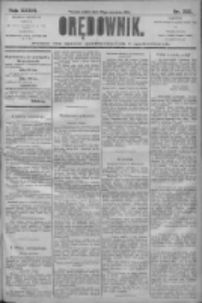 Orędownik: pismo dla spraw politycznych i społecznych 1906.09.29 R.36 Nr222