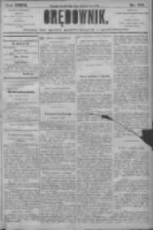 Orędownik: pismo dla spraw politycznych i społecznych 1906.10.02 R.36 Nr224