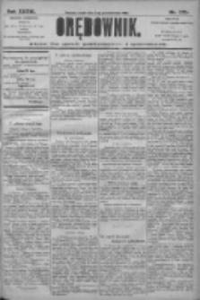 Orędownik: pismo dla spraw politycznych i społecznych 1906.10.03 R.36 Nr225