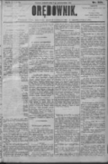 Orędownik: pismo dla spraw politycznych i społecznych 1906.10.07 R.36 Nr229