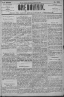 Orędownik: pismo dla spraw politycznych i społecznych 1906.10.10 R.36 Nr230