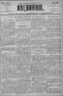 Orędownik: pismo dla spraw politycznych i społecznych 1906.10.11 R.36 Nr232
