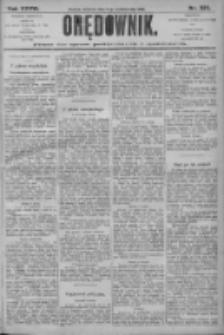 Orędownik: pismo dla spraw politycznych i społecznych 1906.10.14 R.36 Nr235