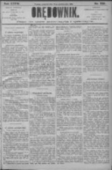 Orędownik: pismo dla spraw politycznych i społecznych 1906.10.18 R.36 Nr238