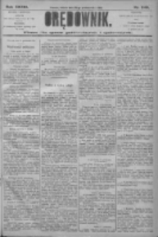 Orędownik: pismo dla spraw politycznych i społecznych 1906.10.20 R.36 Nr240