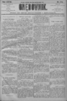 Orędownik: pismo dla spraw politycznych i społecznych 1906.10.21 R.36 Nr241
