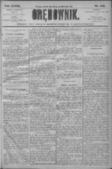 Orędownik: pismo dla spraw politycznych i społecznych 1906.10.23 R.36 Nr242