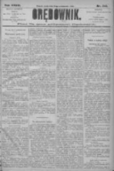 Orędownik: pismo dla spraw politycznych i społecznych 1906.10.24 R.36 Nr243