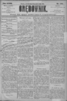 Orędownik: pismo dla spraw politycznych i społecznych 1906.10.25 R.36 Nr244