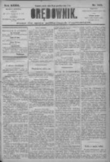 Orędownik: pismo dla spraw politycznych i społecznych 1906.10.26 R.36 Nr245