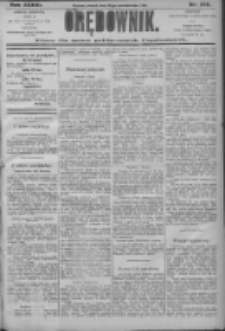 Orędownik: pismo dla spraw politycznych i społecznych 1906.10.30 R.36 Nr248