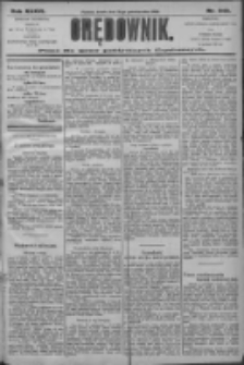 Orędownik: pismo dla spraw politycznych i społecznych 1906.10.31 R.36 Nr249