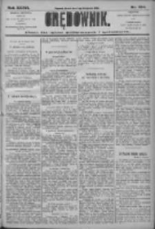 Orędownik: pismo dla spraw politycznych i społecznych 1906.11.07 R.36 Nr254