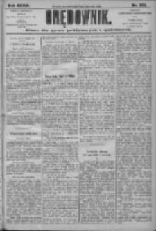 Orędownik: pismo dla spraw politycznych i społecznych 1906.11.08 R.36 Nr255