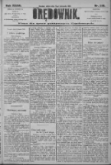 Orędownik: pismo dla spraw politycznych i społecznych 1906.11.09 R.36 Nr256