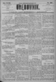 Orędownik: pismo dla spraw politycznych i społecznych 1906.11.11 R.36 Nr258