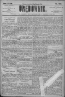 Orędownik: pismo dla spraw politycznych i społecznych 1906.11.13 R.36 Nr259