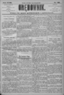 Orędownik: pismo dla spraw politycznych i społecznych 1906.11.14 R.36 Nr260